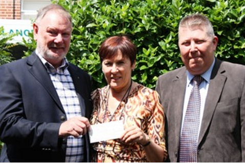 WEHA Donates Money to The Margaret Centre & St Francis Hospice