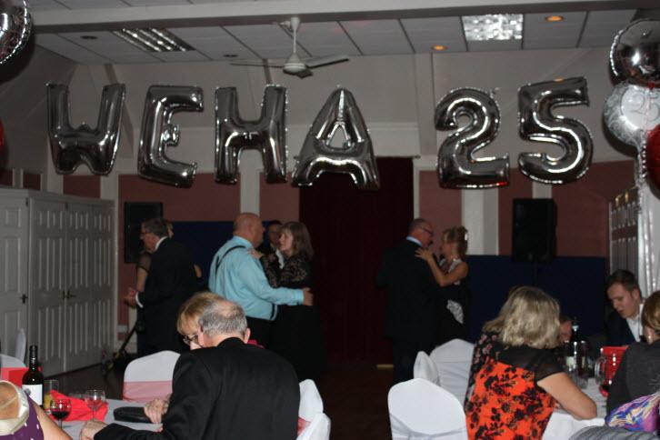 WEHA held a 25 year anniversary dinner